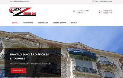 site internet Acro'Zenith